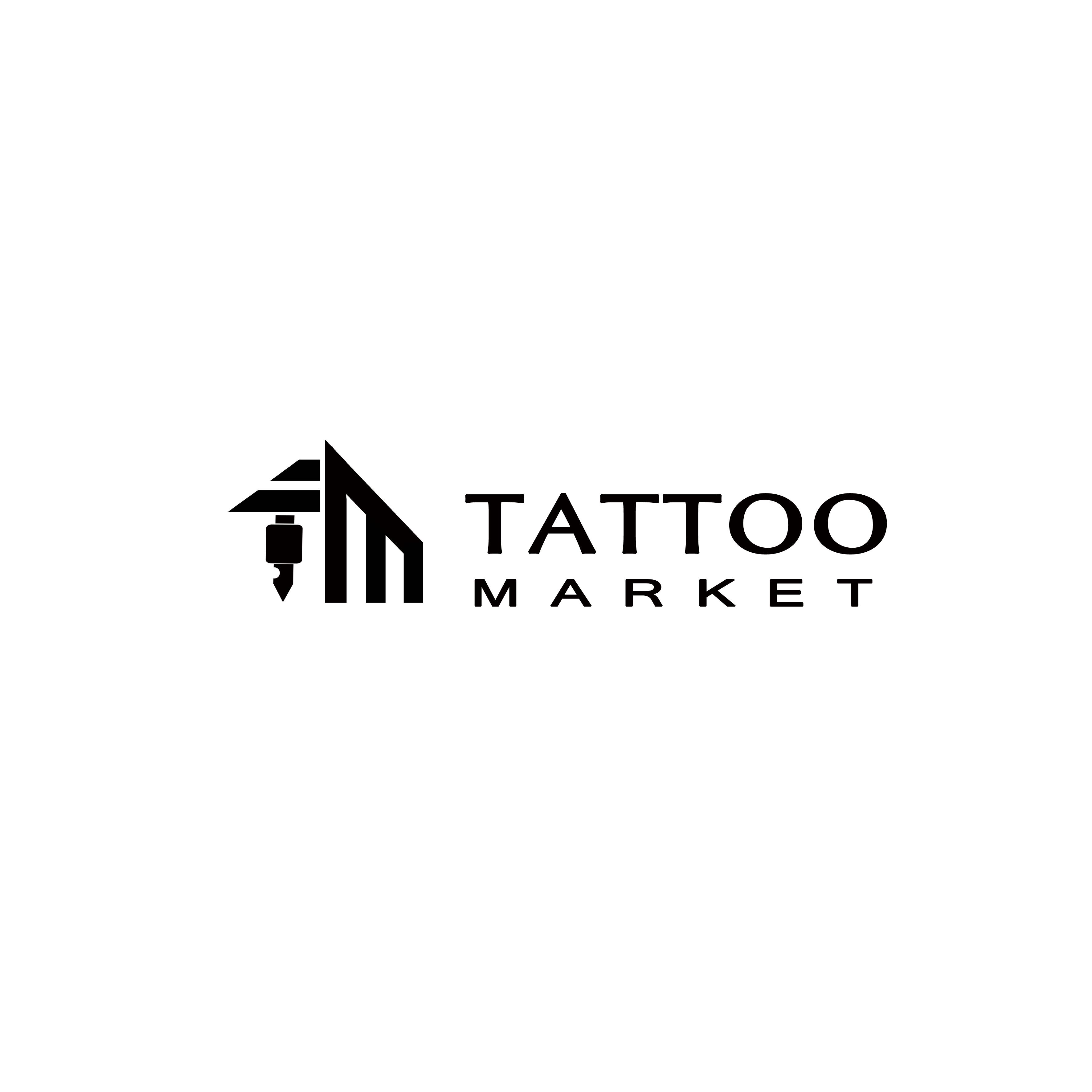 Редизайн логотипа магазина тату оборудования TattooMarket.ru фото f_5605c40b37f3978b.jpg