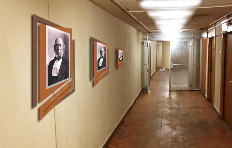 Предложить идею оформления портретов (с информацией) на стене фото f_6245e1f1b508e2ef.jpg