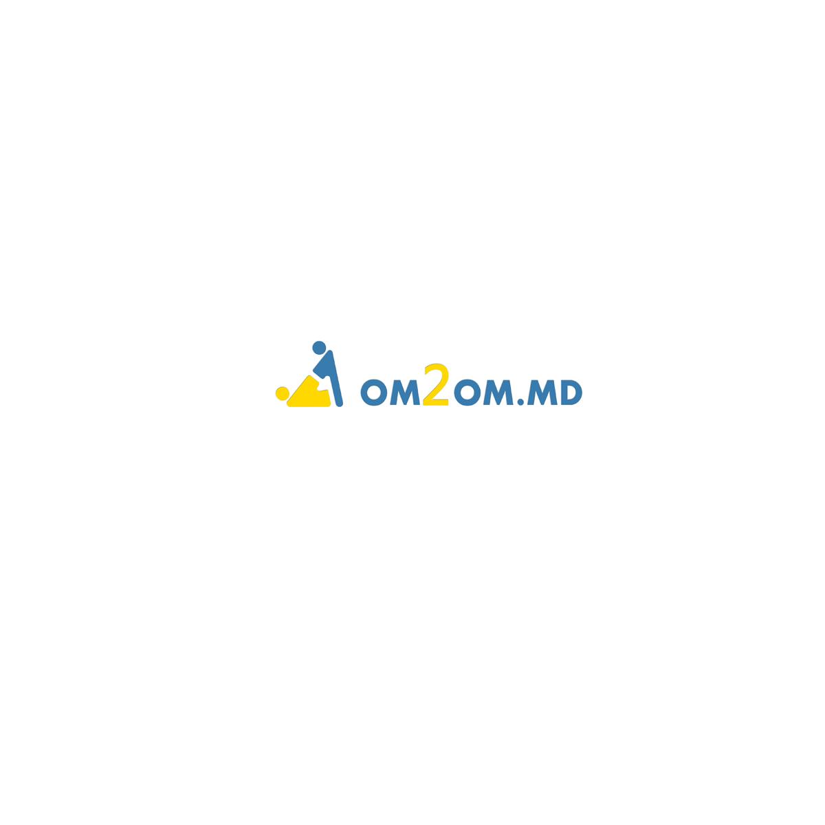 Разработка логотипа для краудфандинговой платформы om2om.md фото f_6915f58b5b78e257.jpg