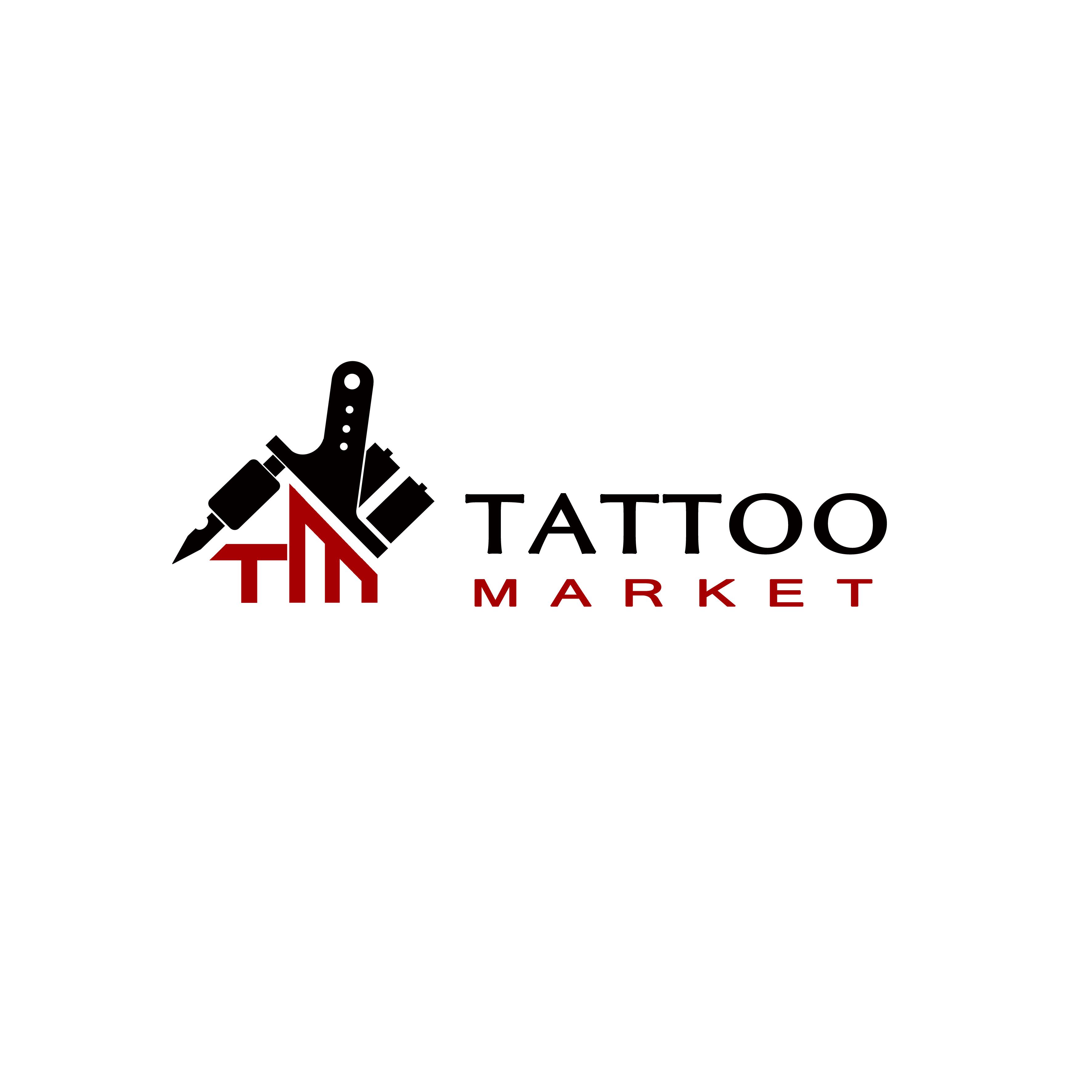 Редизайн логотипа магазина тату оборудования TattooMarket.ru фото f_8815c40ab7856dfe.jpg