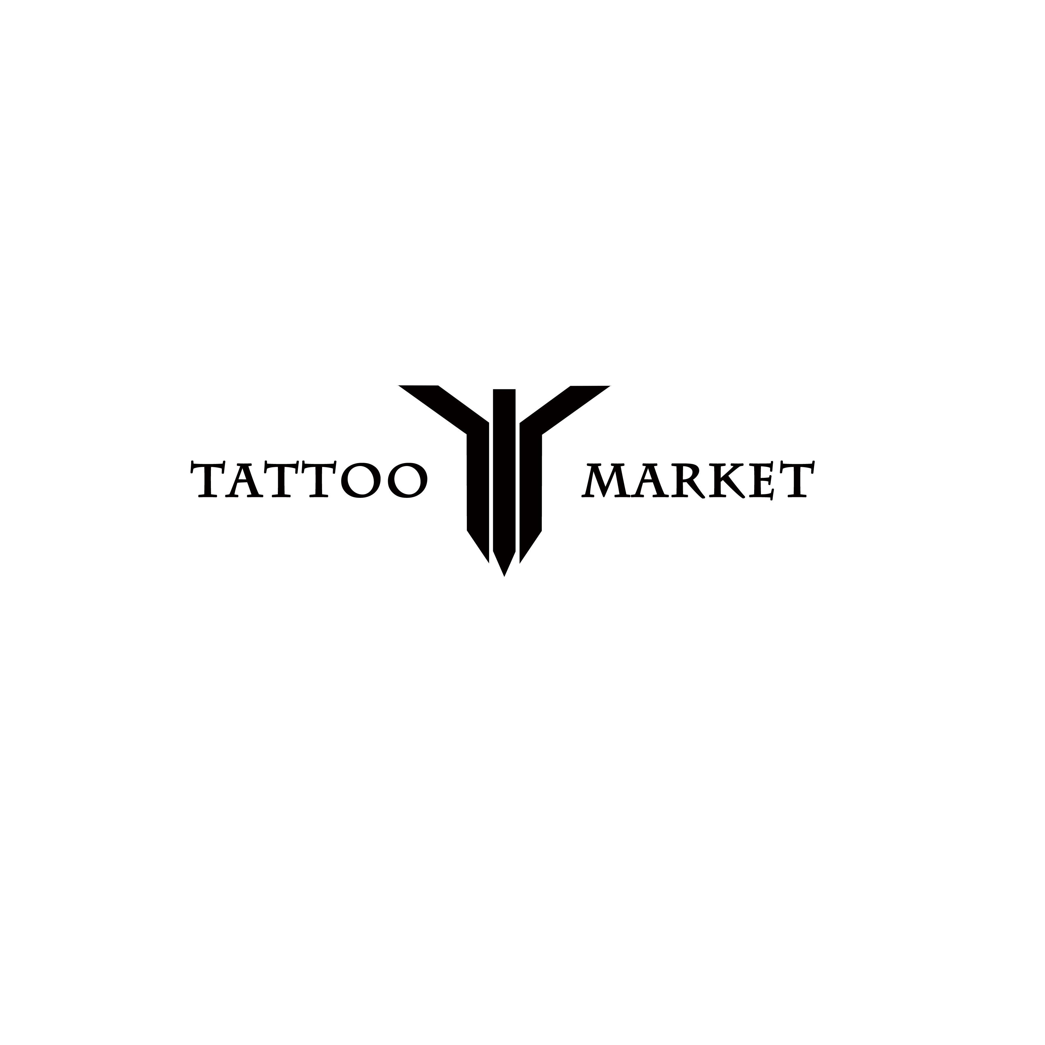 Редизайн логотипа магазина тату оборудования TattooMarket.ru фото f_8975c3a666cabbc1.jpg