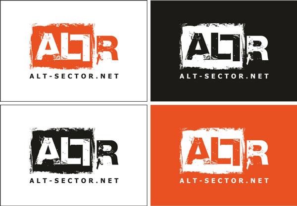 Логотип портала альтернативной музыки «Alt-Sector»