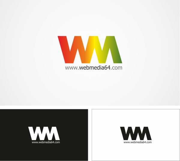 Логотип студии «WebMedia64»