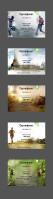 Серия сертификатов для детского лагеря