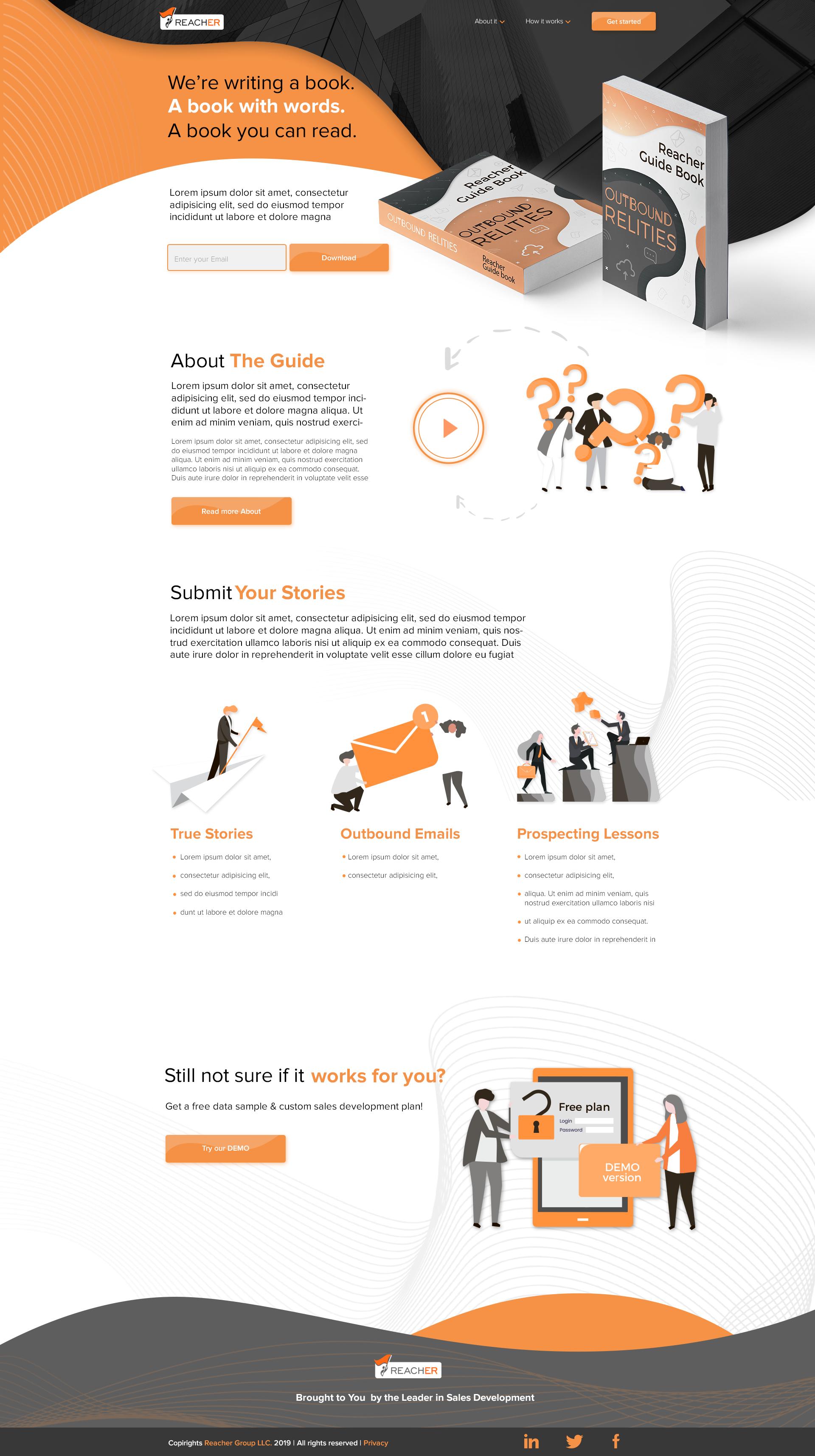 Дизайн сайта для маркетингового агентства