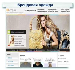 Магазин брендовой одежды Контекстная реклама + Поисковое продвижение (SEO) ТОП 1-10 (43 запроса)