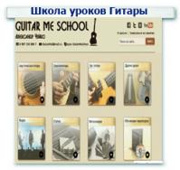 Уроки игры на гитаре Контекстная реклама + Поисковое продвижение (SEO) ТОП 1-10 (52 запроса)
