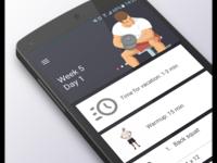 Приложение для фитнеса