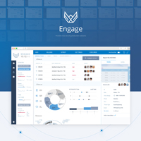 Engage - (AngularJS + Java Spring Framework)