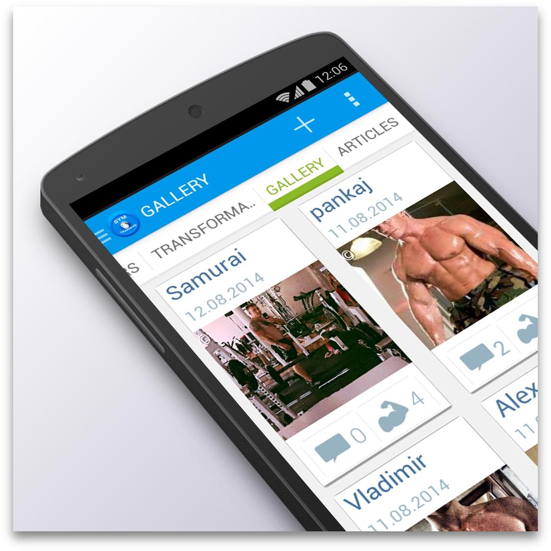 Социальная сеть GymTraining