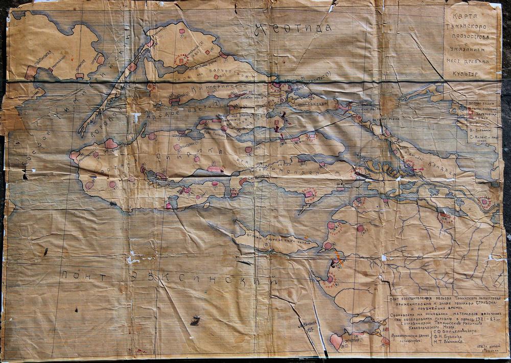 Отрисовка старой карты