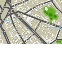 г. Москва. Карта проезда