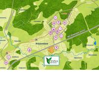Карта инфраструктуры жилого комплекса