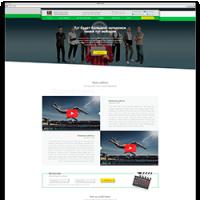 Создание адаптивного сайта под ключ для студии видеодизайна