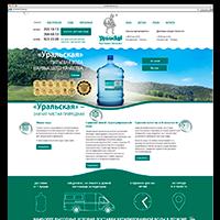 Программирование и верстка интернет-магазина доставки воды CMS Joomla virtuemart