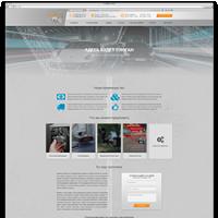 Создание адаптивного лендинга для сайта продажи автозапчастей