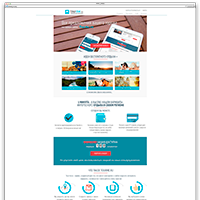 """Создание landing-page для сайта tourme.ru """"под ключ"""""""