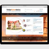 Разработка сайта http://timberhome-ural.ru CMS Joomla
