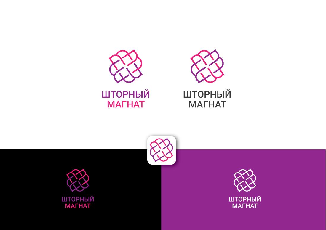 Логотип и фирменный стиль для магазина тканей. фото f_0465cdabeb178949.png