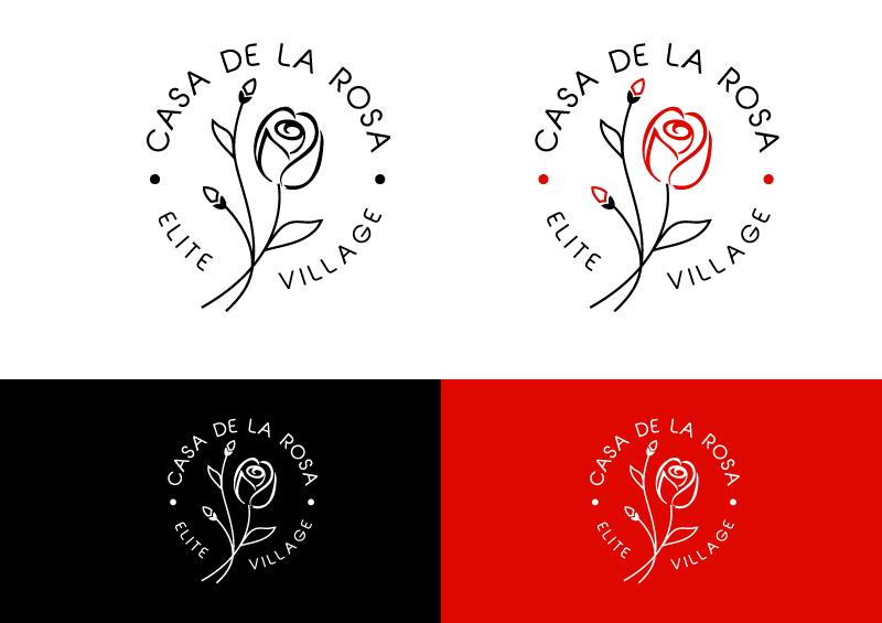 Логотип + Фирменный знак для элитного поселка Casa De La Rosa фото f_1395cd95f2967183.png