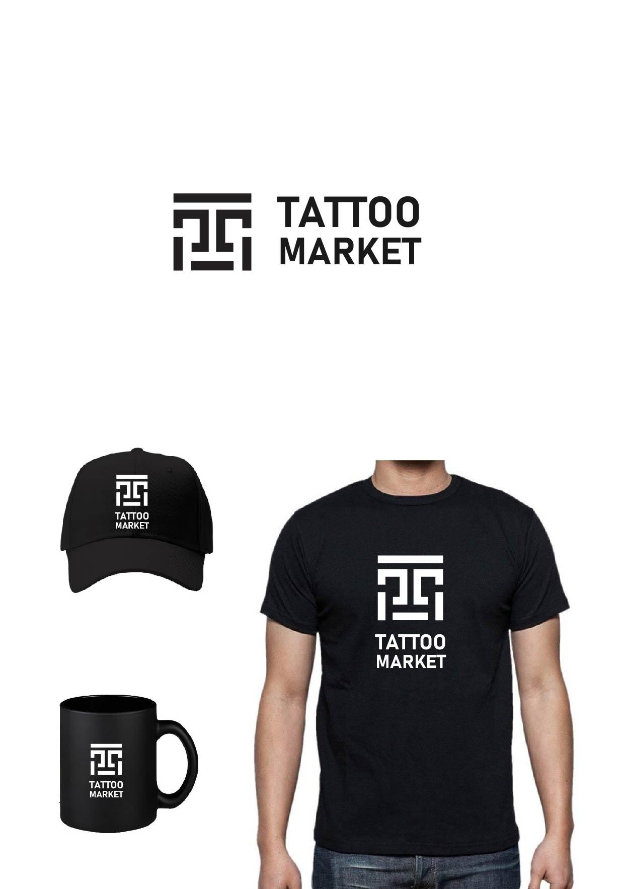 Редизайн логотипа магазина тату оборудования TattooMarket.ru фото f_5755c39d9b55fc33.jpg
