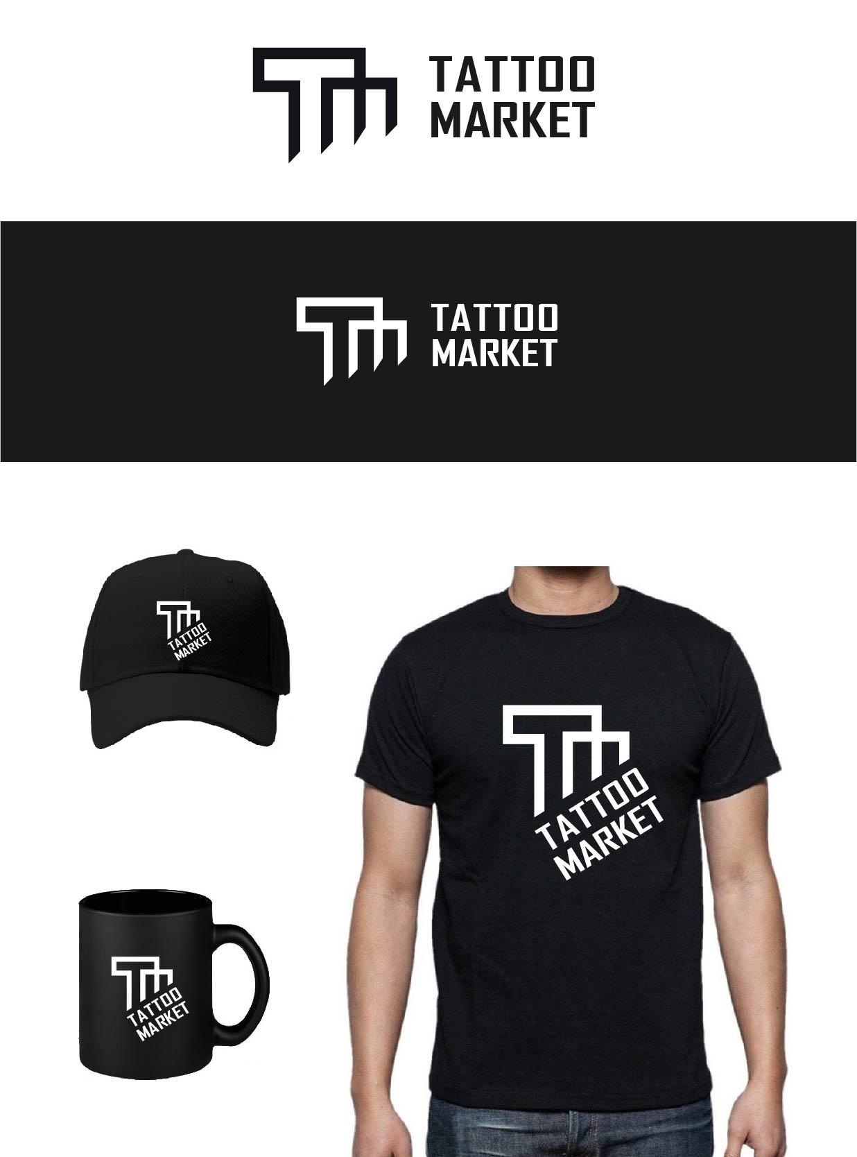 Редизайн логотипа магазина тату оборудования TattooMarket.ru фото f_6075c3f2efea63b9.jpg