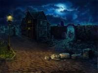 Локация ночная улица