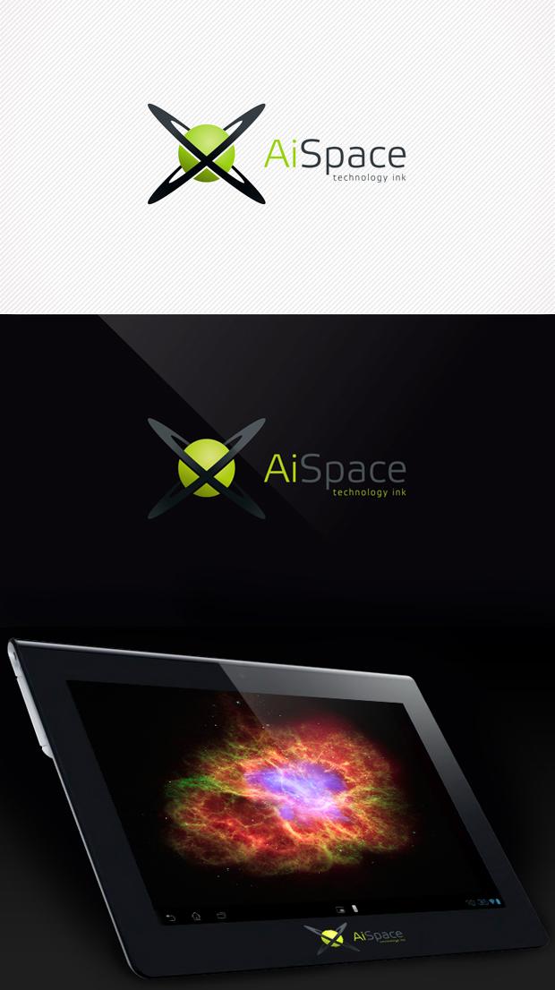 Разработать логотип и фирменный стиль для компании AiSpace фото f_06051ac4506a3ce3.jpg