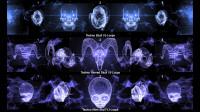 Techno Skulls VJ Loops 9 in 1