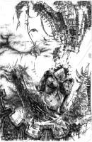 breakcore-пьеса-Внедрение / серия графики 2007-2012
