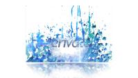 темплейт на на videohive.net - logo liquid paint