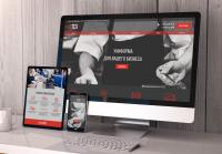Лендинг-каталог-магазин продажи униформы для бизнеса