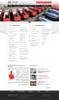 Корпоративный сайт техцентра ALFA-FLEET (1 ver)