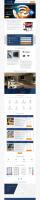 Одностраничный сайт умных домов от PRESIDIO