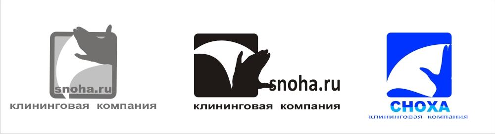 Логотип клининговой компании, сайт snoha.ru фото f_19754a4016a83389.jpg