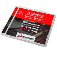 """Оформление диска """"11 шагов к увеличению прибыли вашего бизнеса"""""""