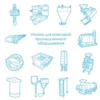 Иконки для категорий Промышленного оборудования