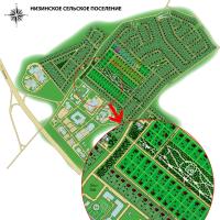 Ген. план котеджного поселка