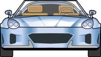 Рисунок машины для мультика