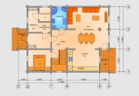 Планировка дома 4
