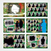 Шаблон для выпускного альбома 01