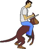 Человек и обезьяна 8