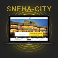 Sneha-city - корпоративный сайт под ключ