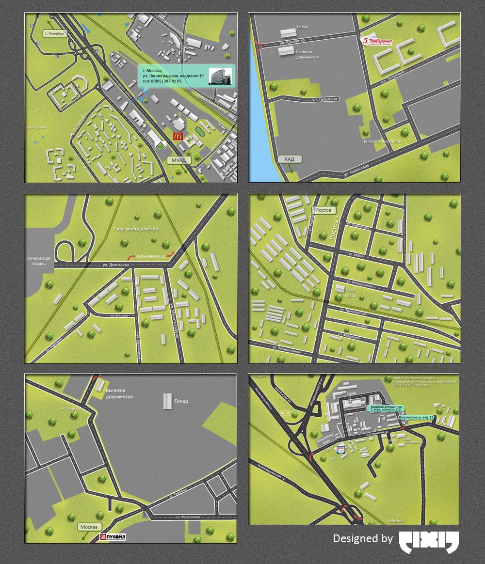 Карты проезда