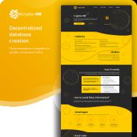 Crypto-HR - лендинг