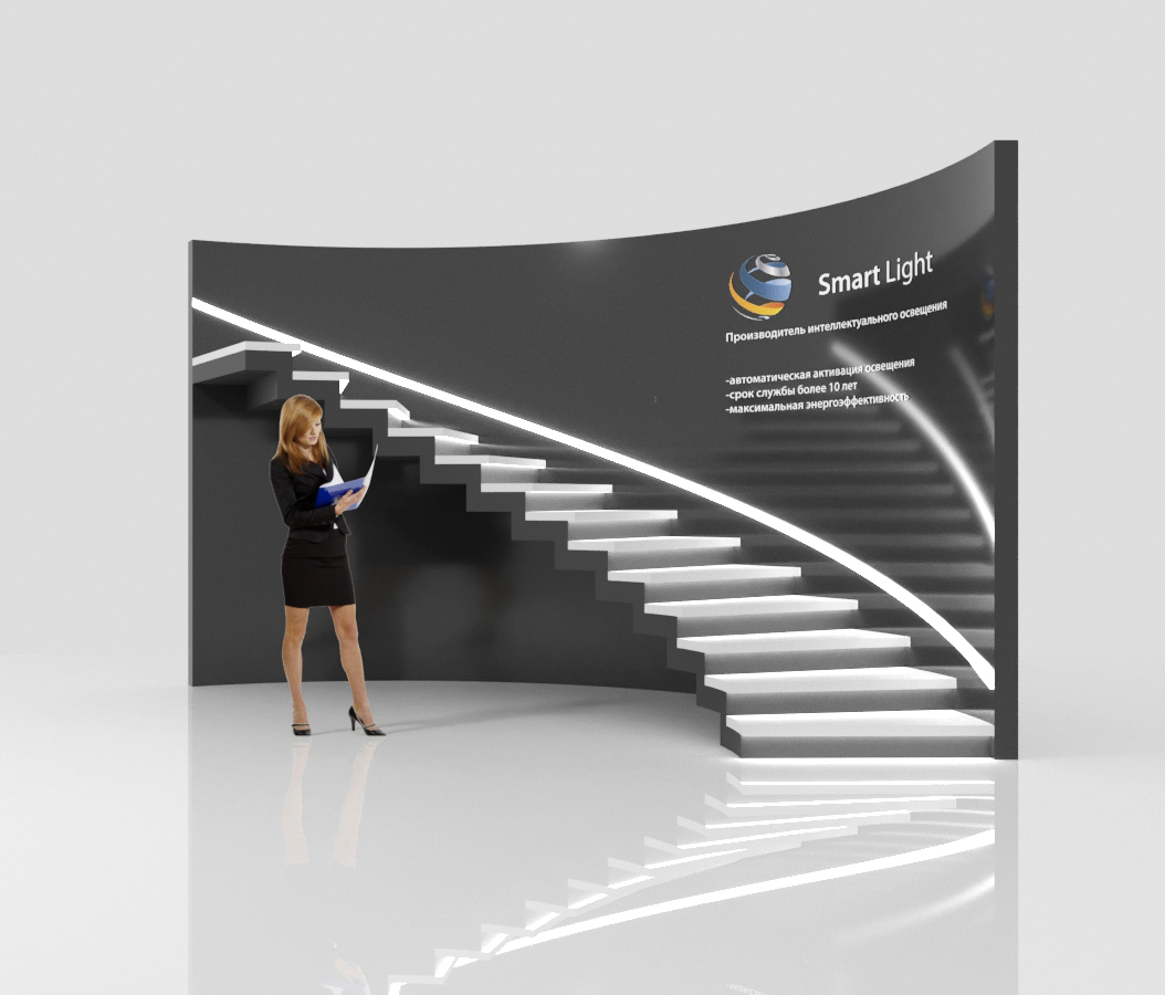 exhibition booth_stairs