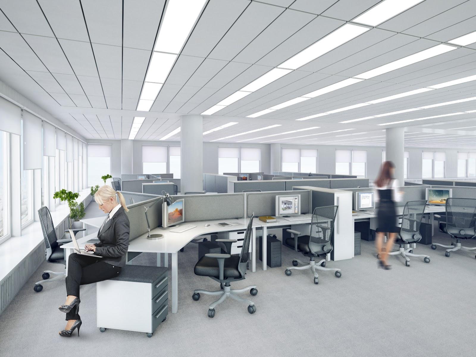 Офис. Open space.
