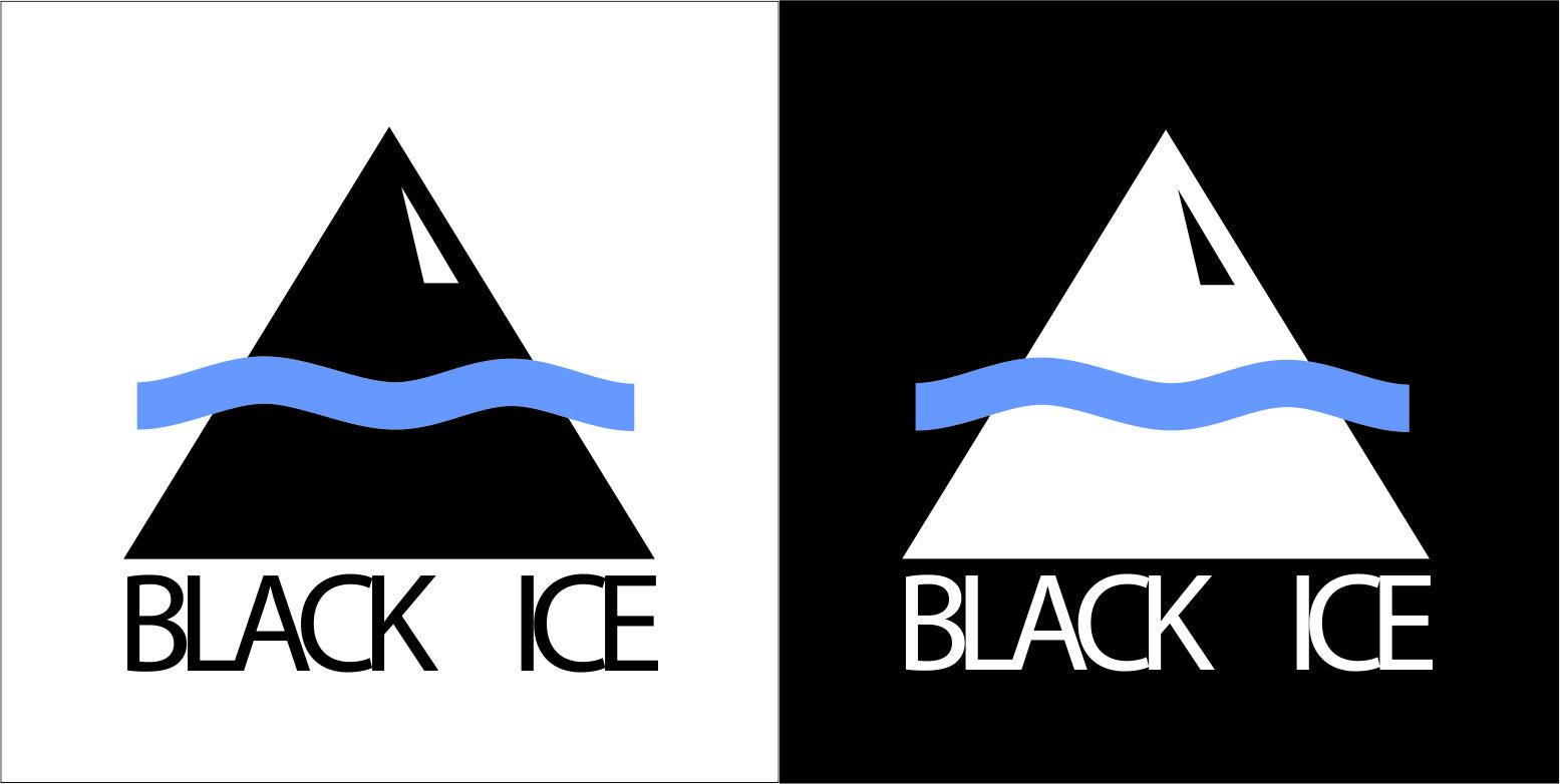 """Логотип + Фирменный стиль для компании """"BLACK ICE"""" фото f_42556dd2c872c93e.jpg"""