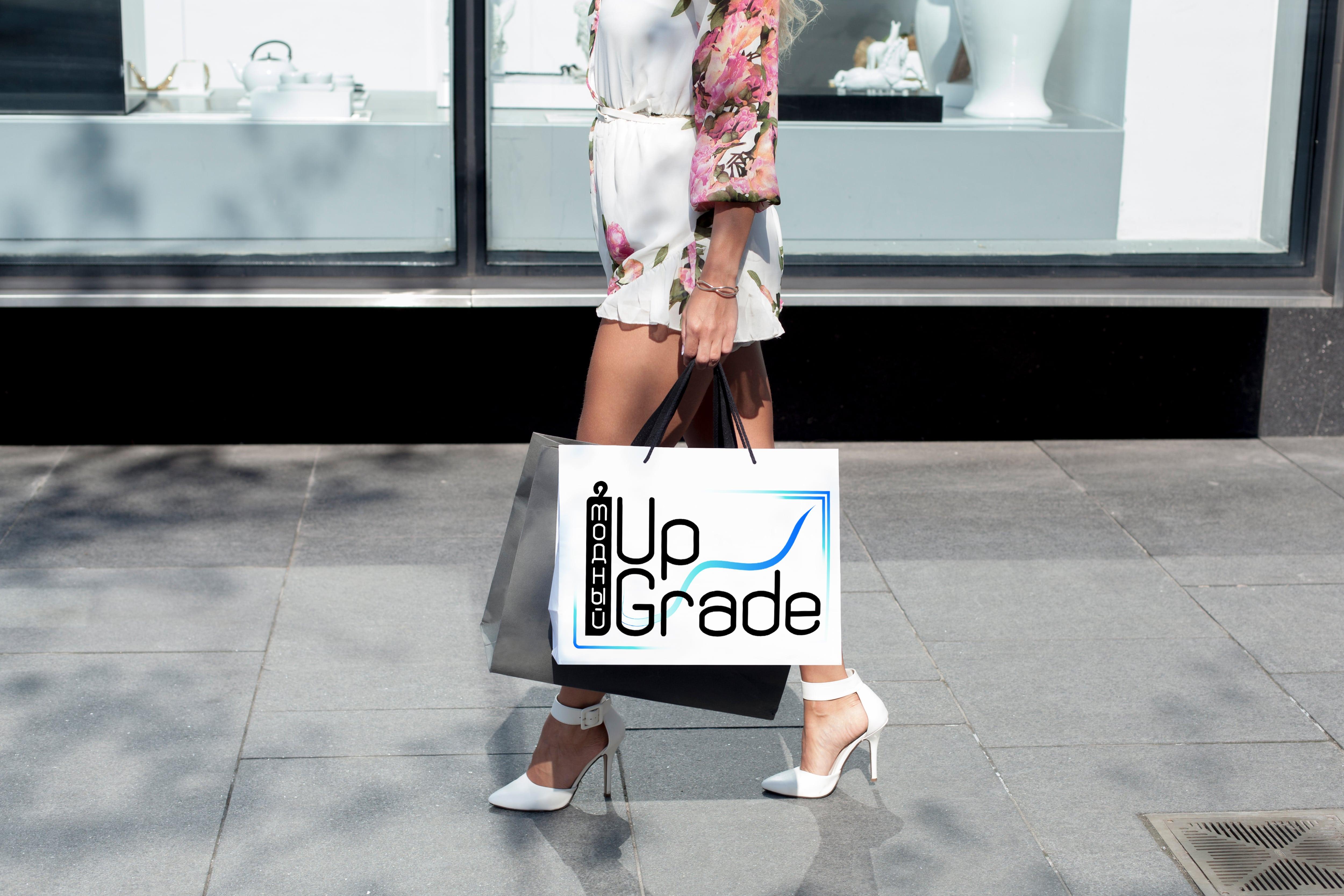 "Логотип интернет магазина ""Модный UPGRADE"" фото f_0745943eaee1bb5b.jpg"