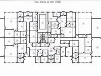 Создание планов этажей в AutoCad (А3)